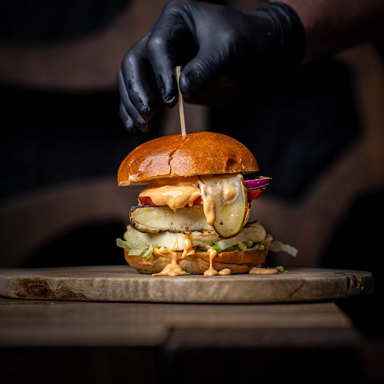 Halluomi Burger