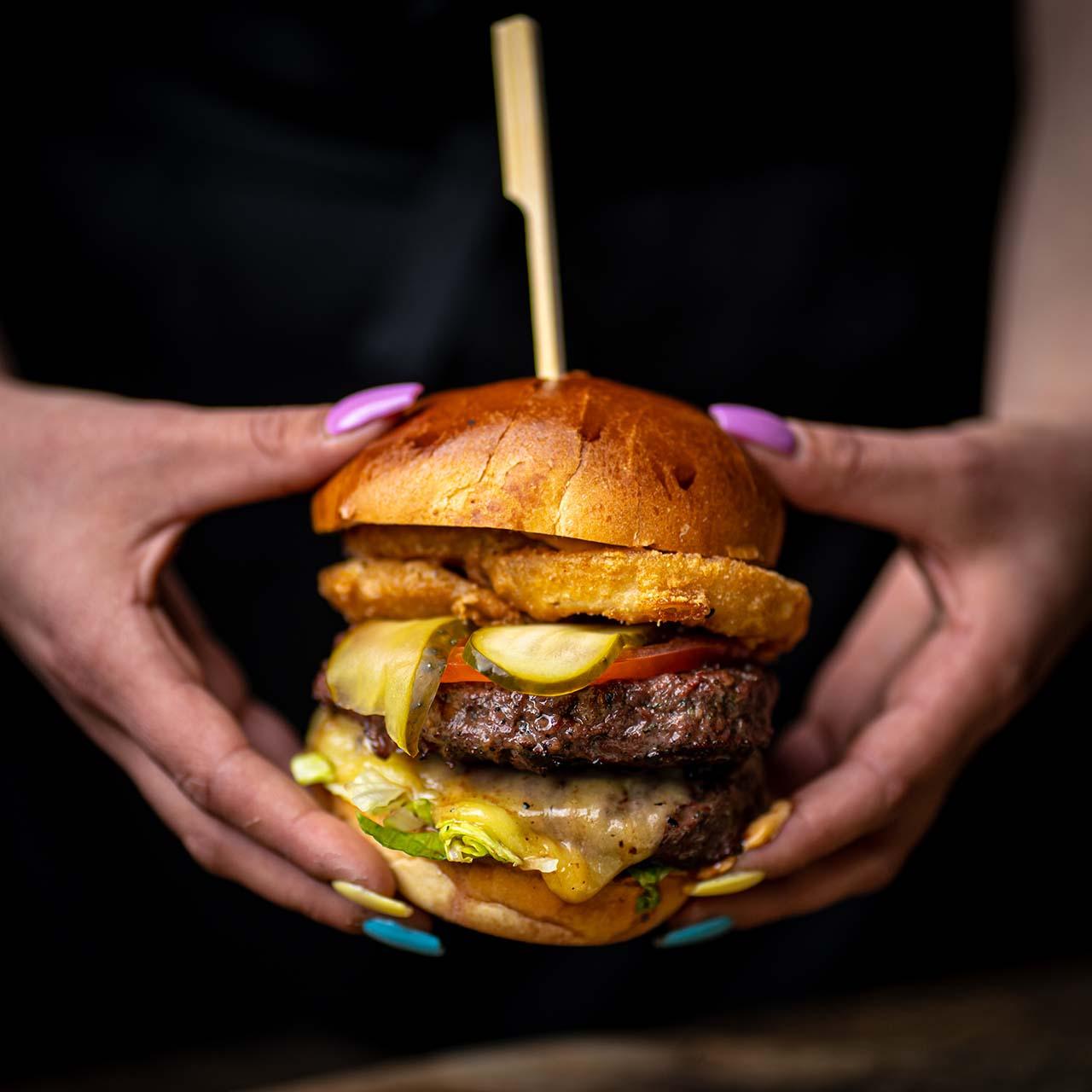 Waterfront Burger Stack